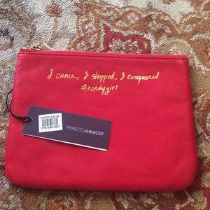 COPY - Rebecca Minkoff Erin Pouch (leather)
